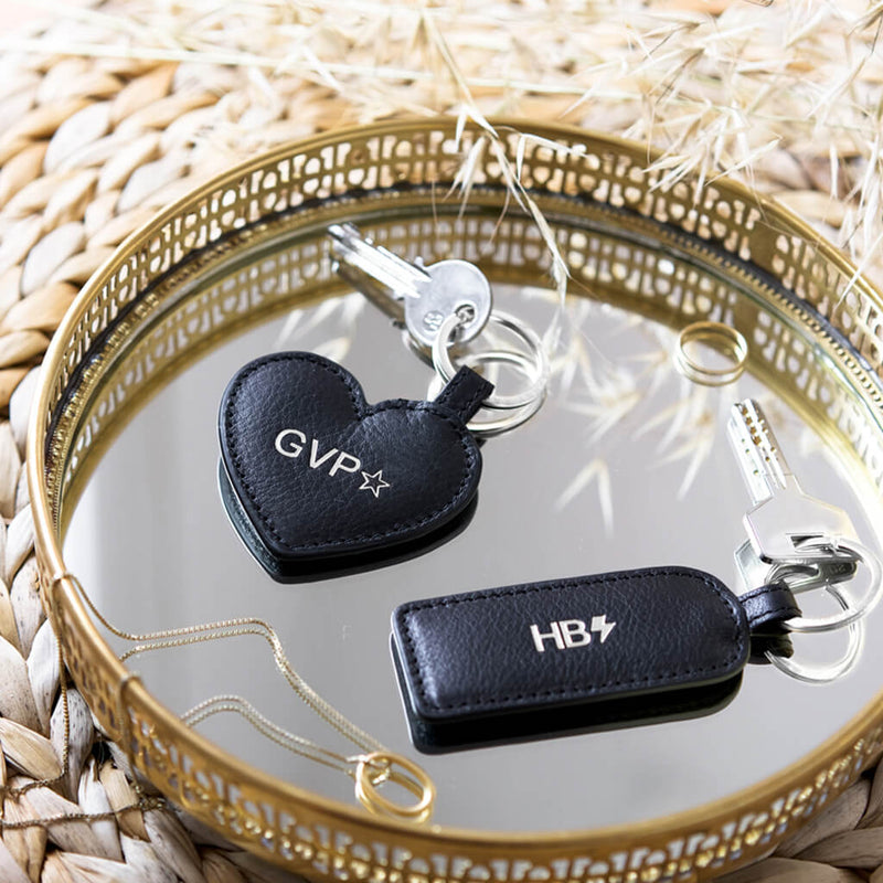 Keychain 'Love' black