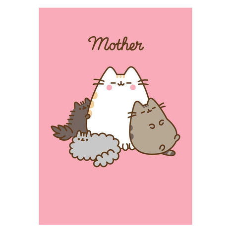 pusheen mum mother card
