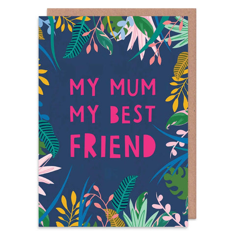 mum best friend card