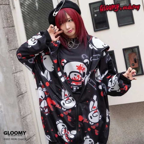 ACDC Rag Hoodie - Japanese Import - Gloomy Bear - Black