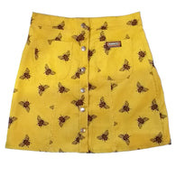corduroy bee skirt