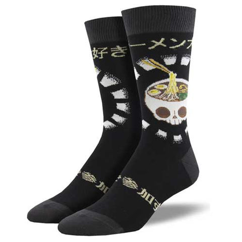 mens japanese skull socks