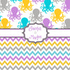 Multi-Color Octopus & Chevron with Personalization