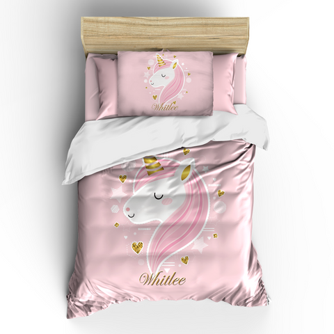 Sweet UNICORN Magic Theme Bedding