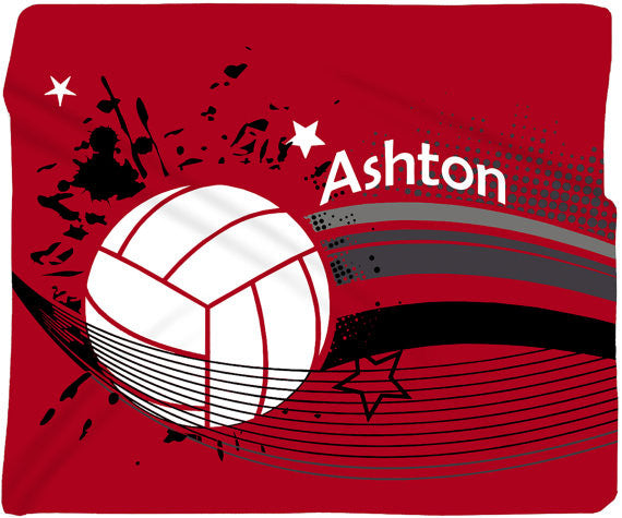 Volleyball Fleece Blanket