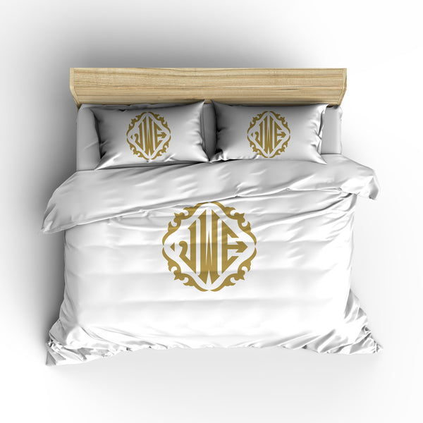 Diamond Classic  Designer Monogram Bedding