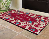 Ikat Design Door Mat