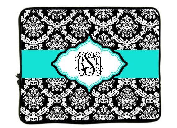 Classic Damask Laptop Sleeves