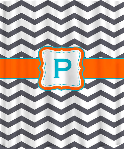 Chevron with Frame and Personalization