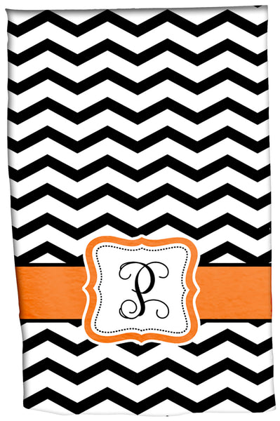 Personalized Custom Hand Towel -Any Background Design and accent colors with Personalization of your choice