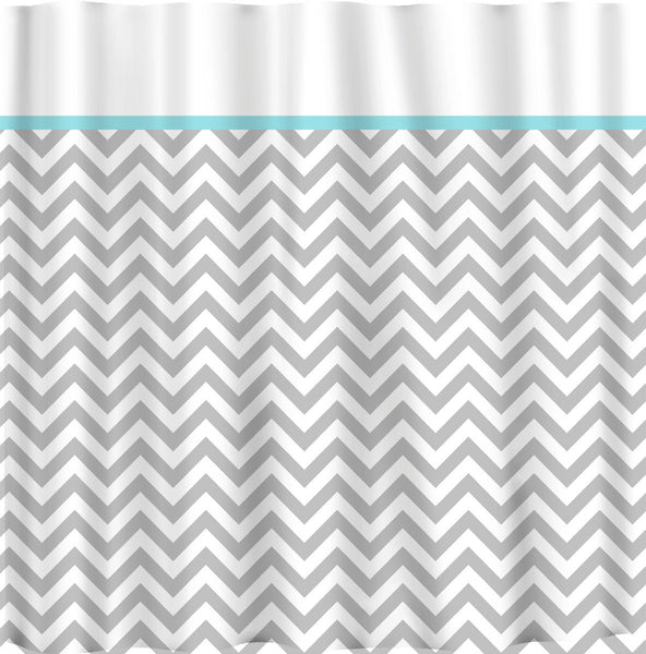 White Topped -Chevron Traditional Bottom ANY colors and Accent