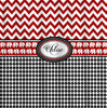 Classic Houndstooth with Personalization