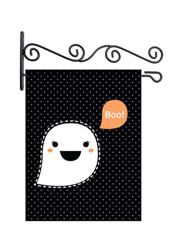 Kawai Ghost Custom Personalized Yard Flag - 13.5 by 18.5 inches - your name and or initial