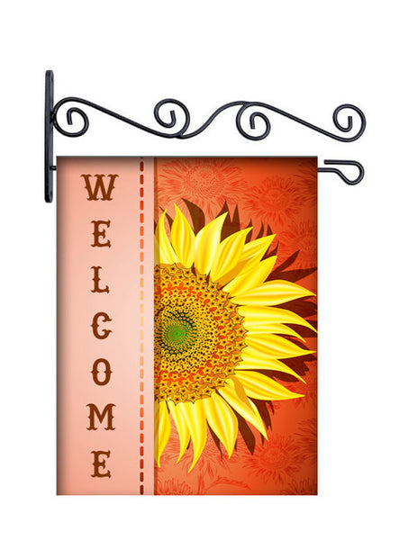 Sunflower Designer Yard Flag