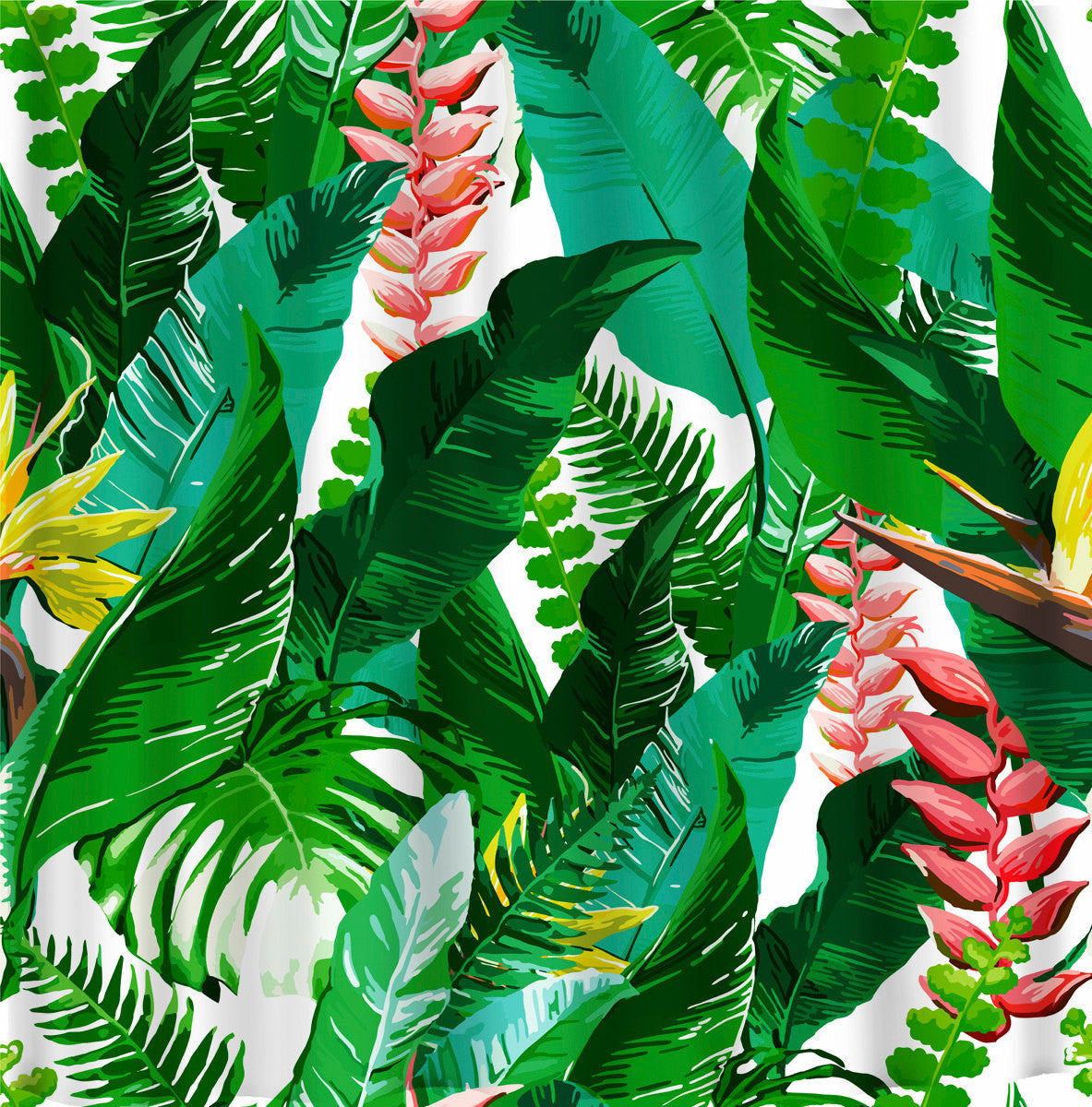 Designer Inspired Trendy Floral Tropical Theme Thedezineshop