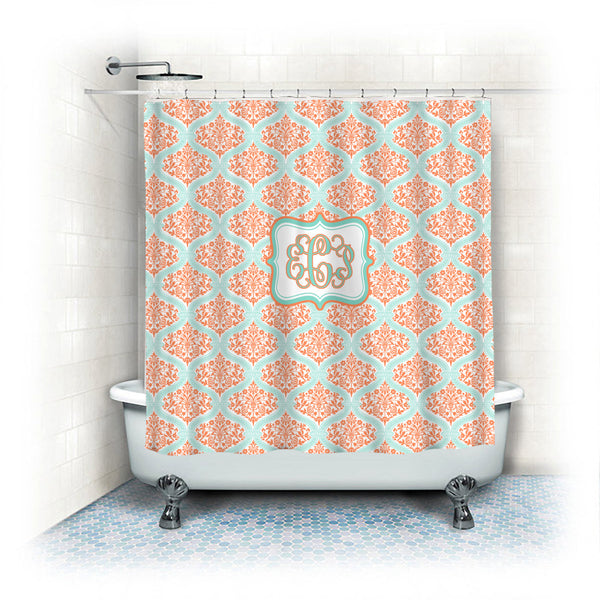 Custom Personalized Dream Damask Shower Curtain - your colors