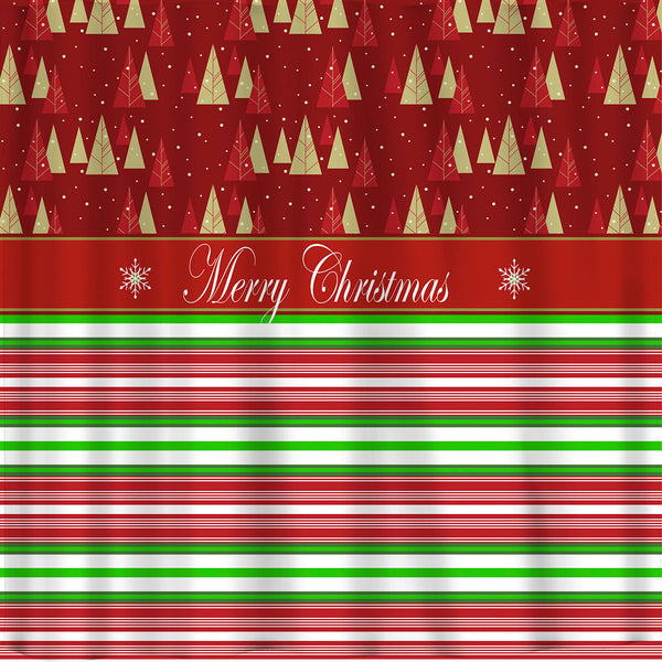 Christmas is here! Shower Curtain
