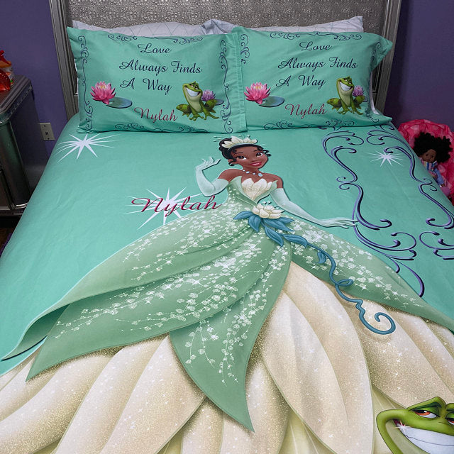 Princess And The Frog Inspired Bedding Reversible Thedezineshop