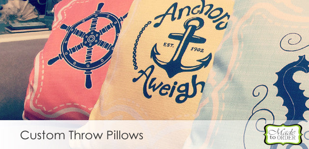 Personalized Custom Pillowcases, Pillows and Throw Pillows