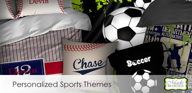Personalized Custom Sports Related Products and Gifts