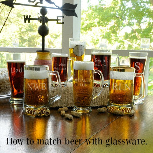 How to Match Beer With Glassware