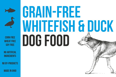 Whitefish & Duck (Grain Free)