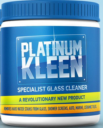 2. Platinum Kleen Specialist Glass Cleaner 2kg Contractor Pack