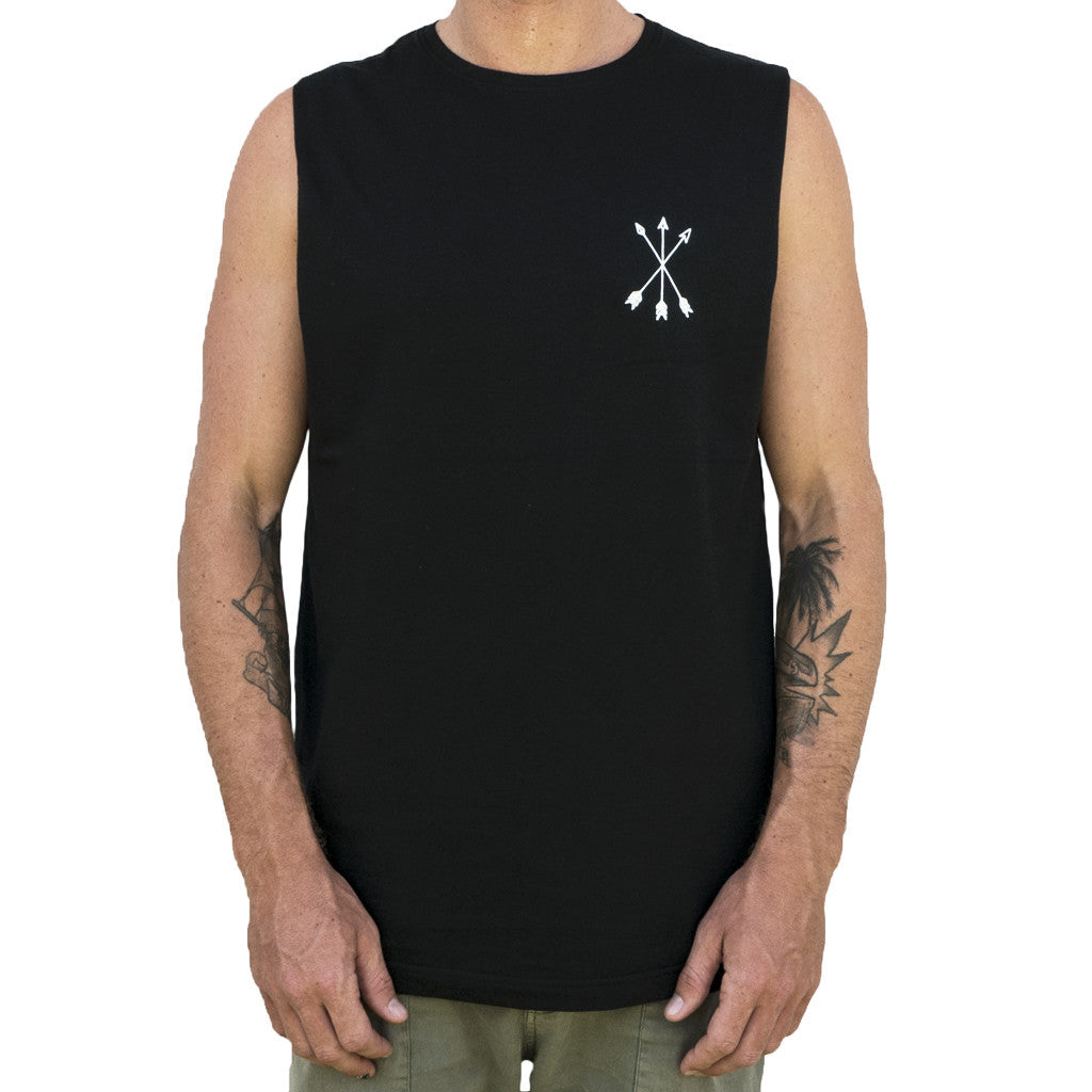 Jungle Cat Tank - Organic - Black