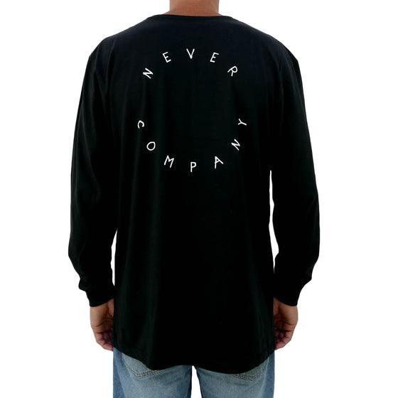 Circle Back Longsleeve - Organic - Black