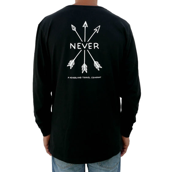 Travel Longsleeve - Organic - Black