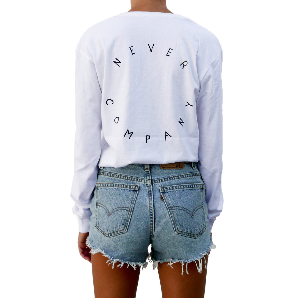 Circle Back Longsleeve - Organic - White