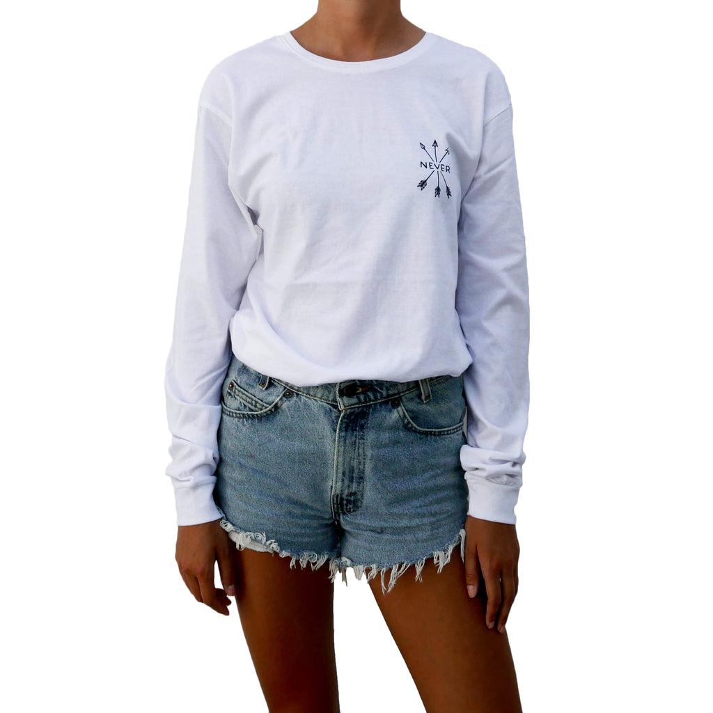 Travel Longsleeve - Organic - White
