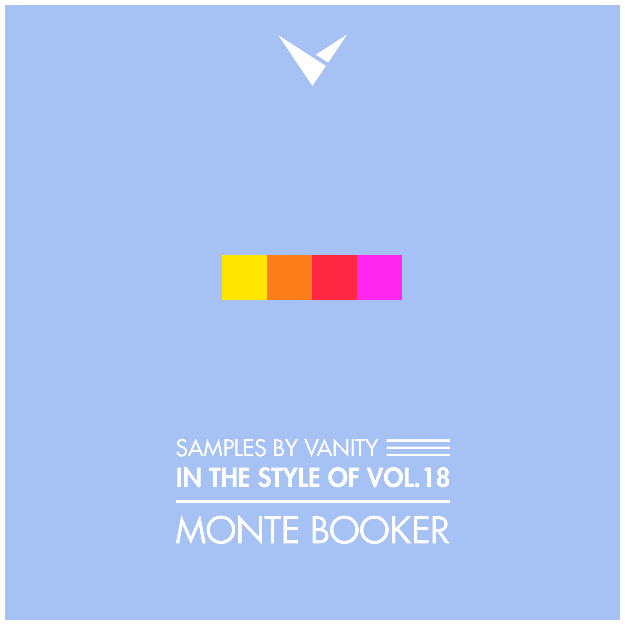 MONTE BOOKER - In The Style Of Vol.18