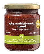 Spicy Sundried Tomato Spread - Mediterra