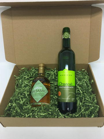 White Balsamic & Olive Oil Gift Box