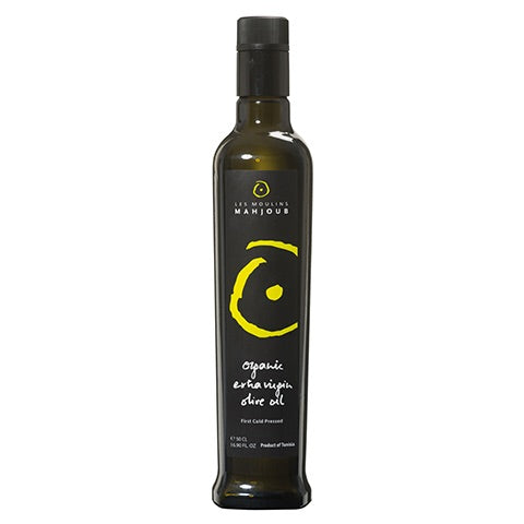 Orgnic Extra Virgin Olive Oil by Moulins Mahjoub 500ml - Mediterra