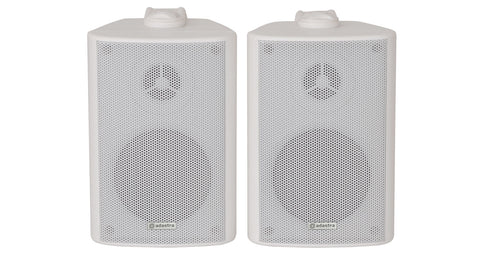 BC3W 3inch Stereo Speakers White Pair