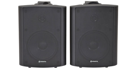 BC5B 5.25inch Stereo Speakers Black Pair