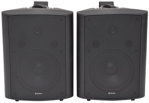 BC8B 8inch Stereo Speakers Black Pair