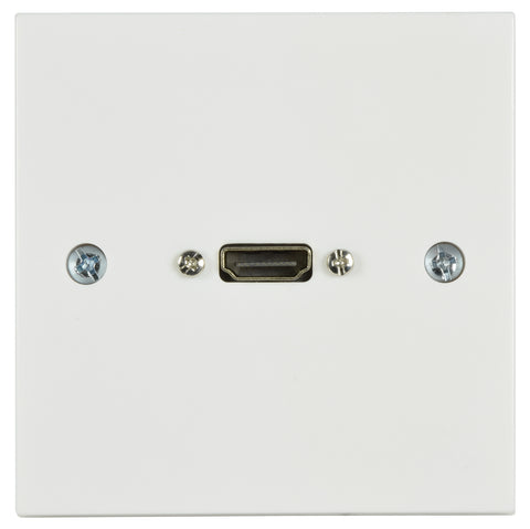 HDMI wall plate with Female Tail