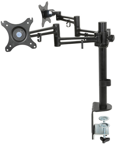 Dual Monitor Desk Mount with Extension A RMS