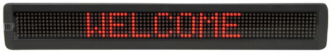 7 x 80 Red LED Moving message display Mk2