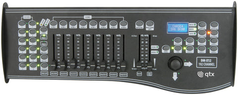 DM X12 192 Channel DMX controller with joystick