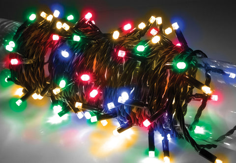 180 LED Heavy Duty Static String Light Multicolour RGBA