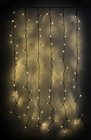 102 LED Connecting Curtain Light WW