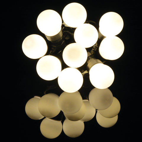 10 Bauble Outdoor Festoon Warm White
