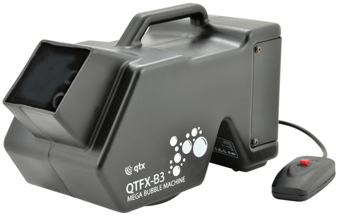 QTFX B3 Bubble machine