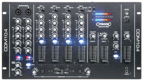 CDM10 to 4 4 Channel USB Mixer