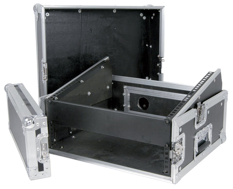 19 Inch Combo flight case 2U Plus 8U