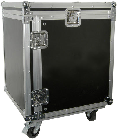 12U 19 Inch rack case with wheels